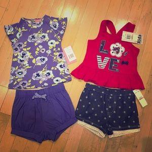 Matching set girls bundle